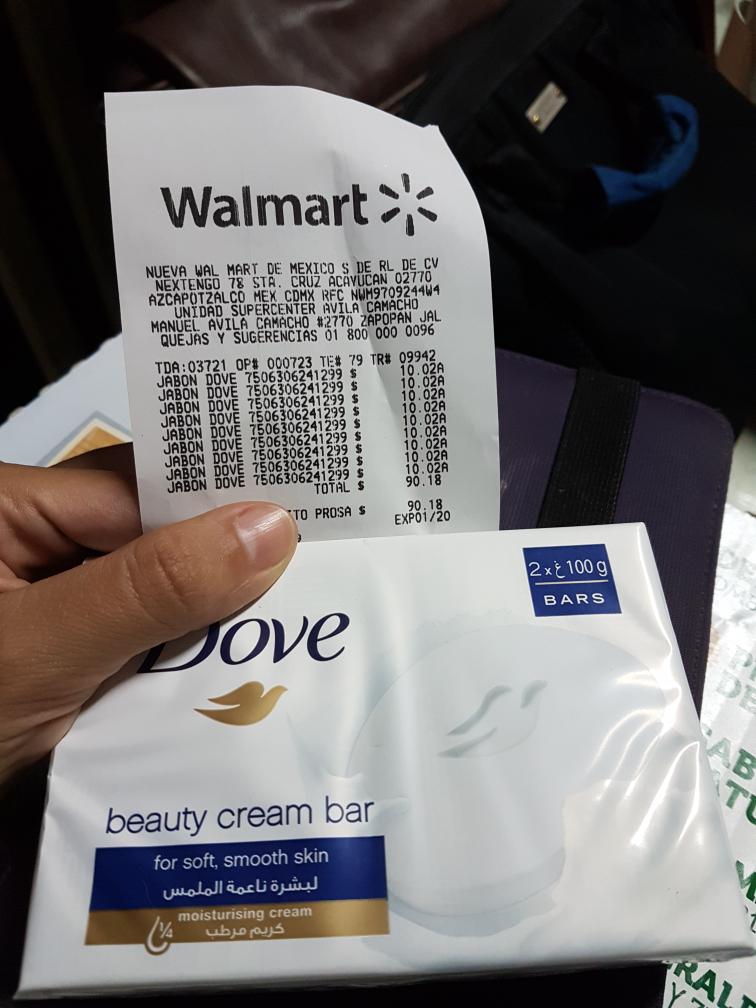 Walmart Avila Camacho Jalisco: Jabones Dove