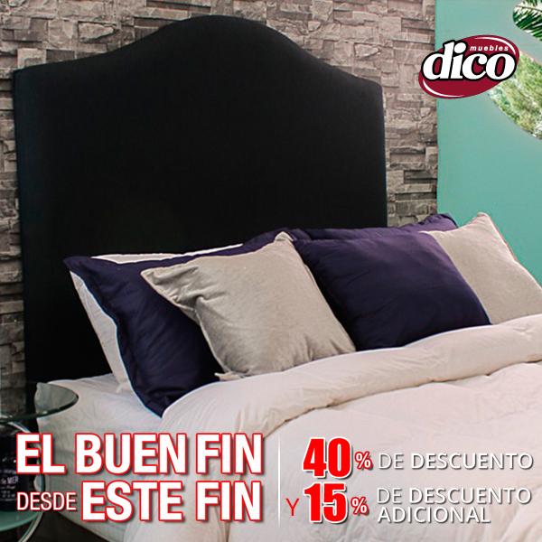 Ofertas de Buen Fin Muebles Dico: 40% de descuento en toda la tienda + 15% adicional