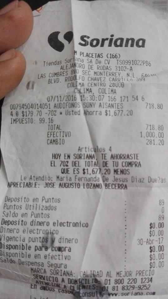 Mercado Soriana Placetas: Audífonos Sony  MDR - NC8B Aislantes de Sonido