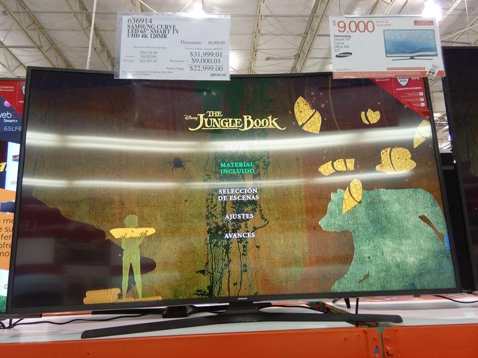 "Costco SLP: Samsung TV 65"" Curve 4k Smart"
