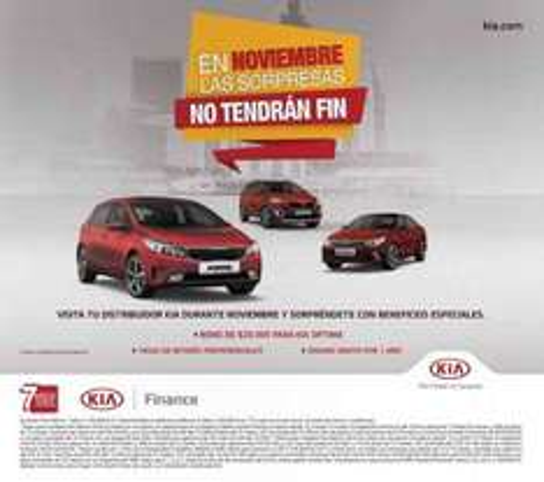 El Buen Fin 2016 en Kia y Peugeot