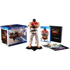 Amazon: Street Fighter V Edición de Colección para PS4