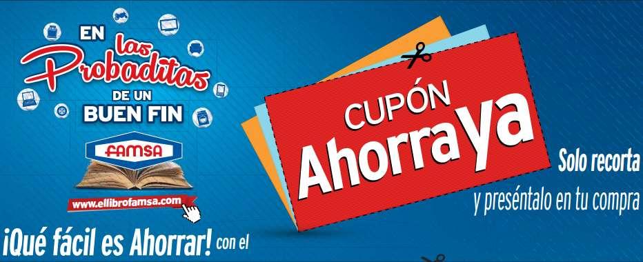 El Buen Fin 2016 en Famsa: preventa exclusiva online + cupones para tienda física