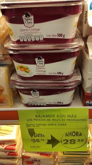 Comercial Mexicana Coapa Vaqueritos: Productos lácteos seleccionados a mitad de precio