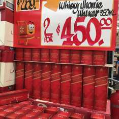 Walmart: 2 botellas de whisky Johnnie Walker por$450