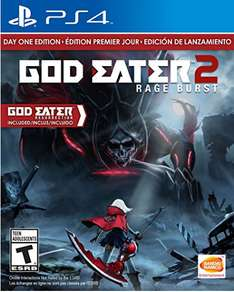 Amazon MX: GOD EATER 2: Rage Burst Day One Editon para PS4