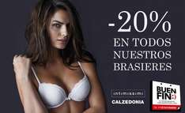 Promociones del Buen Fin 2016: Calzedonia e Intimissimi 20% de descuento en brasieres