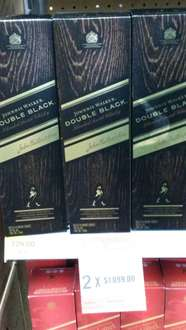 Walmart: 2 botellas Johnnie Walker Double Black