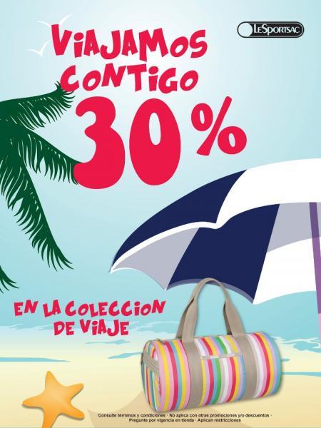 LeSportsac: 30% de descuento en bolsas y maletas