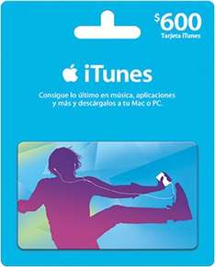 Sanborns: 3x2 en tarjetas iTunes de $600