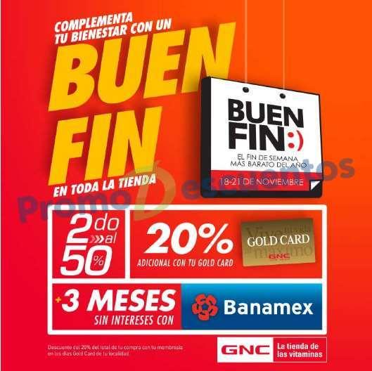 El Buen Fin 2016 en GNC: 2x1 y medio y meses sin intereses