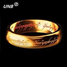 AliExpress: Anillo Lord of the Rings en Acero Inoxidable.