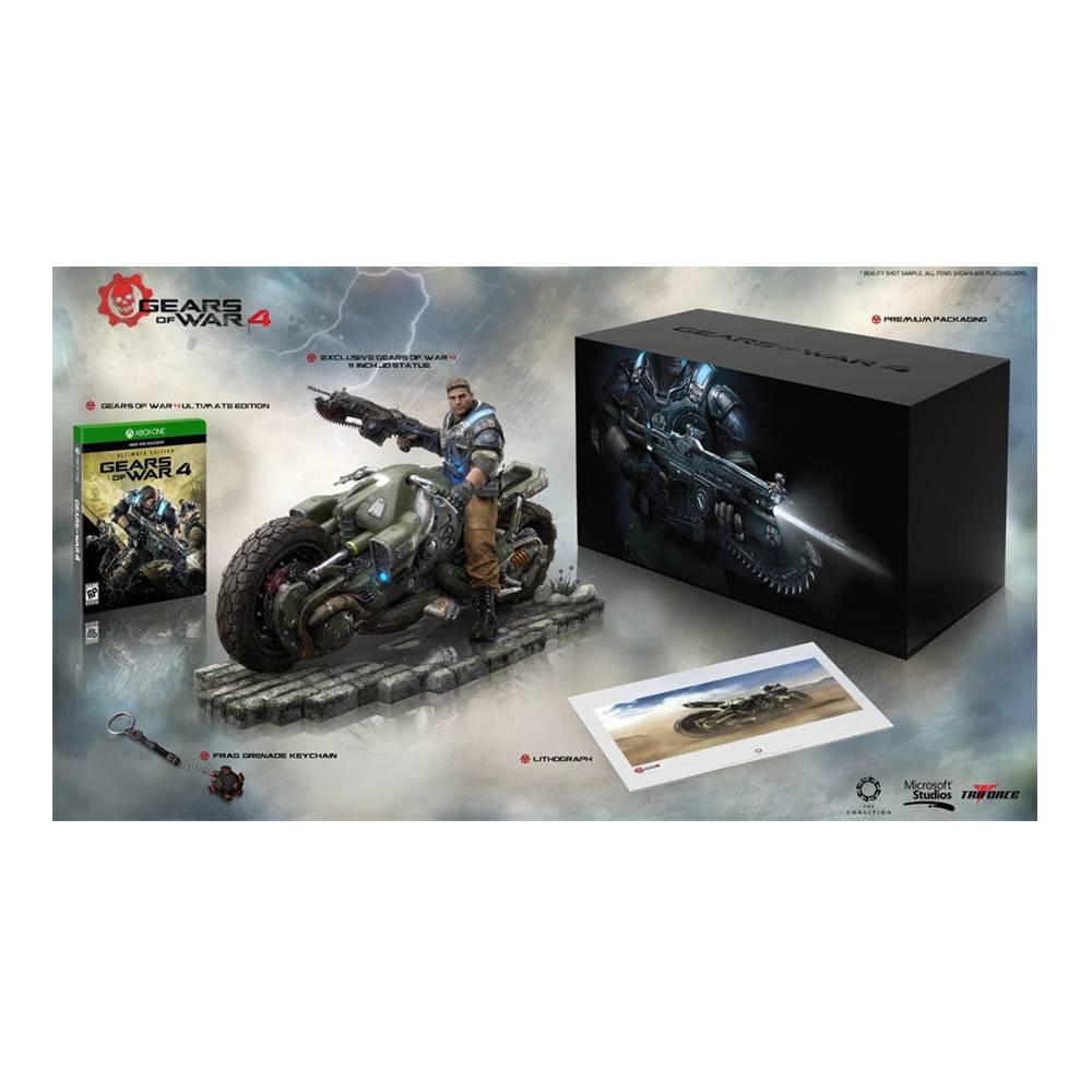 Adelanto El Buen Fin Walmart online: Gears Of War 4 Collectors Edition Xbox one
