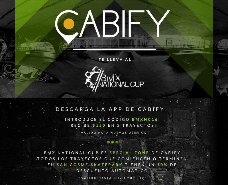 Cabify: $150 en 3 trayectos nuevos usuarios