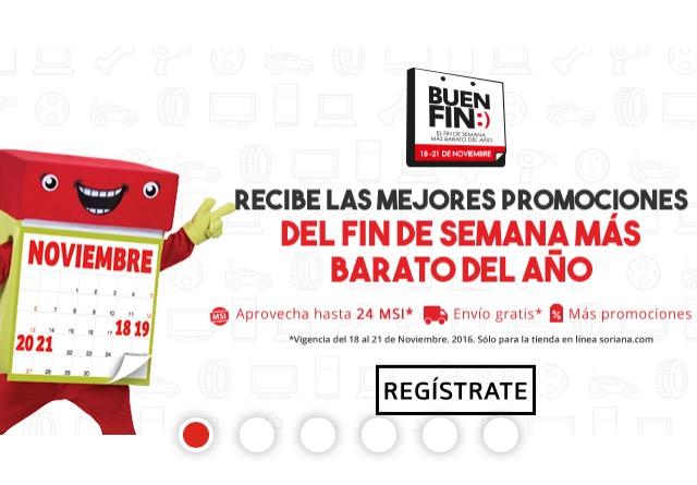 El Buen Fin 2016 en Soriana