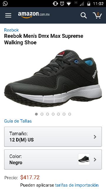 Amazon: Reebok Men's Dmx Max Supreme Walking Shoe