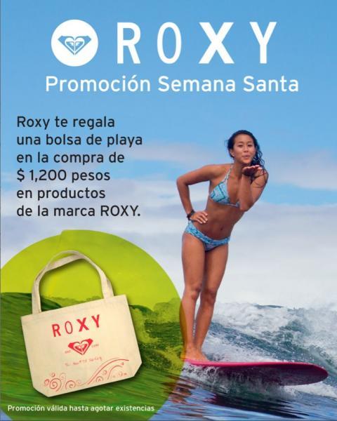 Roxy y Quiksilver: gratis bolsa de playa o frisbee con compra mínima