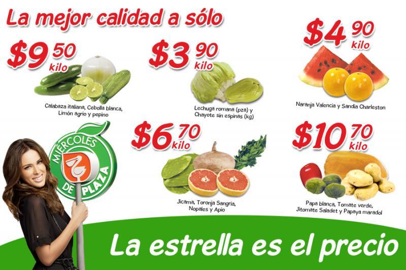Miércoles de Plaza en La Comer marzo 21: lechuga $3.90 pza, sandia $4.90 Kg y más