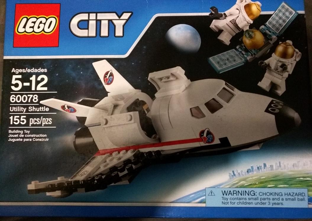 Bodega Aurrerá Ixtapaluca: LEGO City Utility Shuttle $66.01