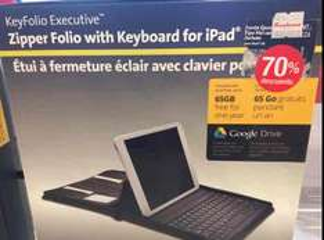 Sanborns Santa Fe: funda con teclado para iPad