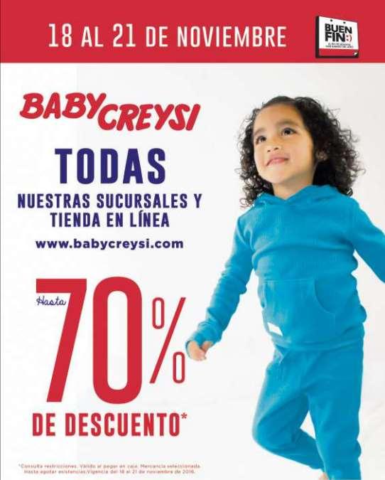 Ofertas del Buen Fin 2016 en tiendas para bebé: Carters, Chicco y Baby Creysi