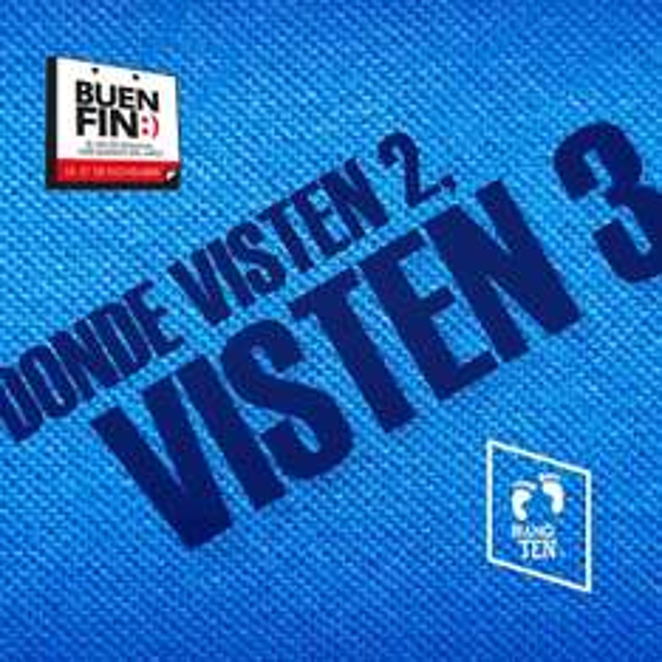 Promociones del Buen Fin 2016: Hang Ten 3x2
