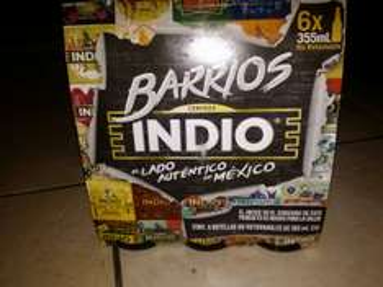 Bodega Aurrerá Saltillo Lourdes: Cerveza Indio Six 355 ml a $40.02