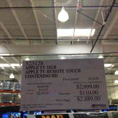 Costco: Apple TV 4ta generación 32GB a $2,899