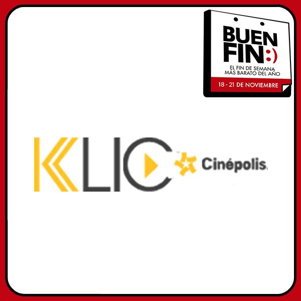 El Buen Fin 2016 en Cinépolis Klic: mitad de precio con puntos