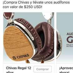 La Europea: 12 botellas de chivas regal + audifonos LSTN