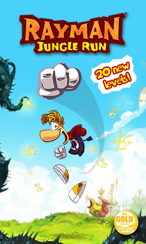 Google Play: Rayman Jungle Run