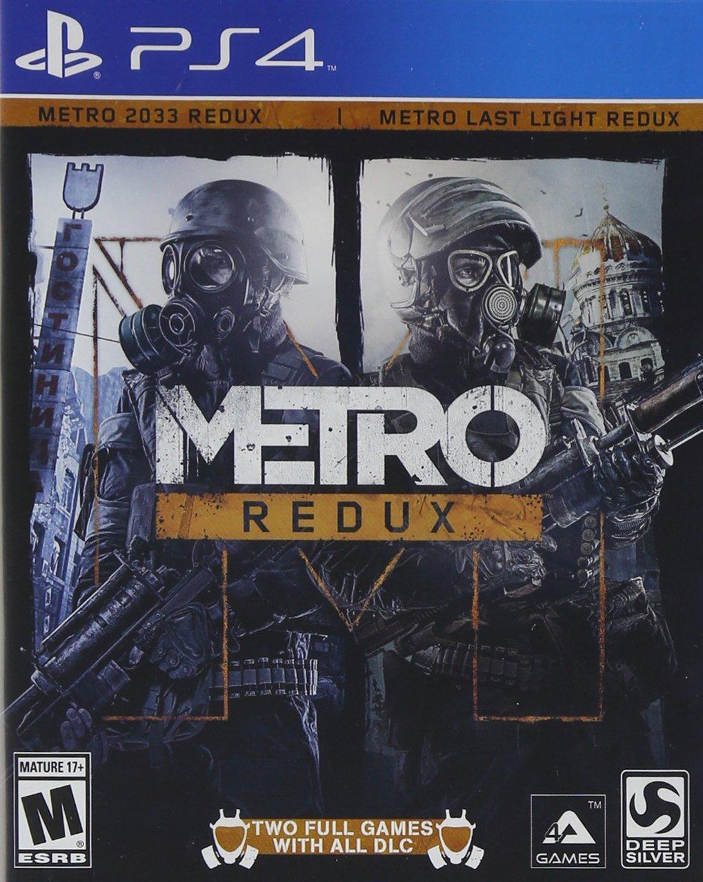 Amazon MX: Metro Redux PS4