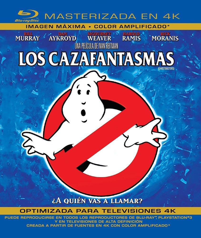 Amazon: Los Cazafantasmas [Blu-ray] (los buenos)