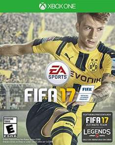 Amazon: Fifa 17 para Xbox One