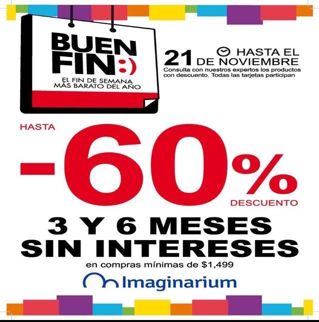 Promociones del Buen Fin 2016 en Imaginarium