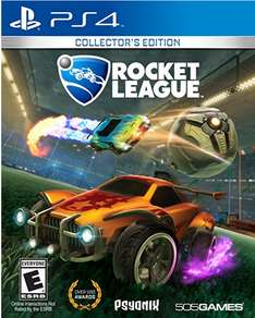 Amazon Mx:  Rocket League Collector's Edition PS4