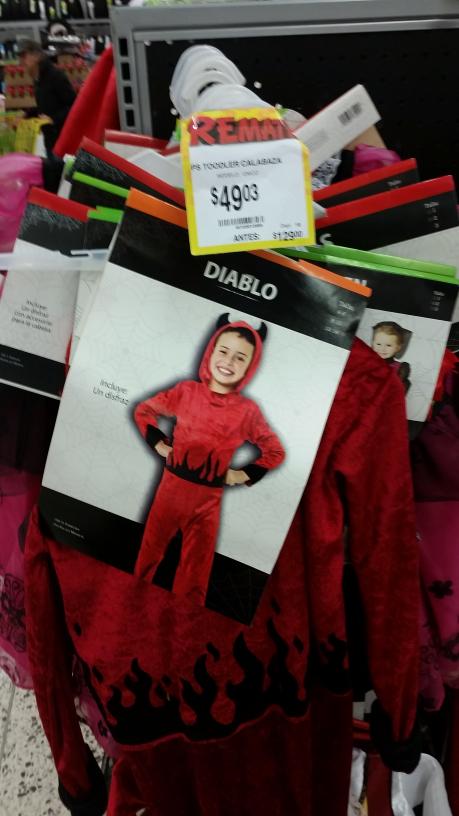 Bodega Aurrerá: disfraces para niñ@s de $129 a $49 pesitos
