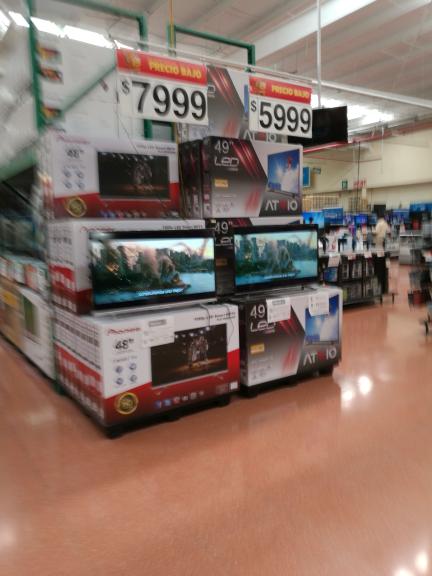 Walmart Jiutepec: Pantalla Atvio 49'' a $5,999