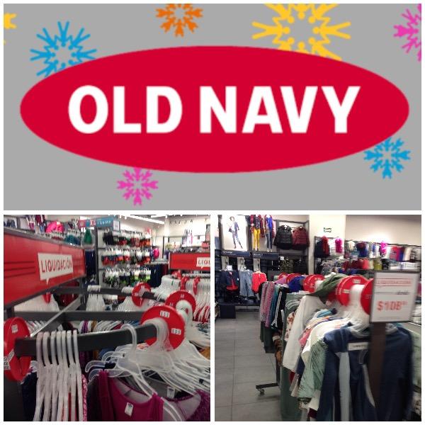 Old Navy: Liquidaciones desde $47