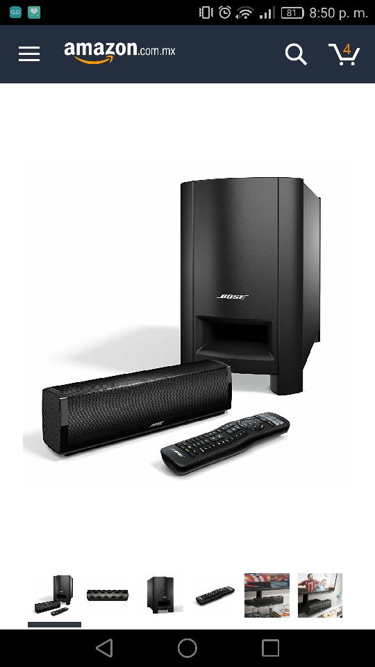 Amazon: Bose CineMate 15 Sistema de altavoces para teatro en casa5 estrellas