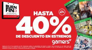 Ofertas del Buen Fin 2016 en Gamers Retail Stores
