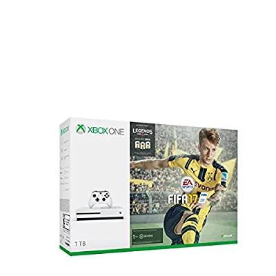 Amazon México: Xbox One S 1TB + FIFA 17