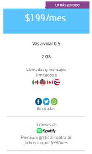 Movistar Plan Vas a volar 0.5 Promocion 1 GB extra