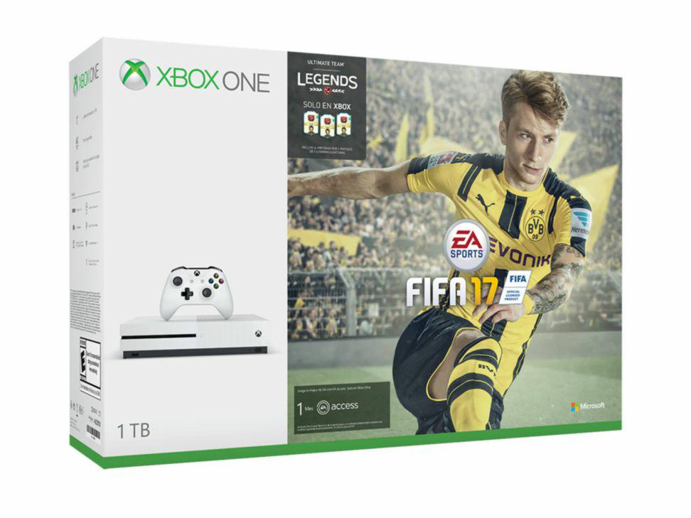 Liverpool: Xbox One S 1TB + FIFA 17