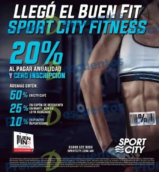 Promociones del Buen Fin 2016 en Sport City