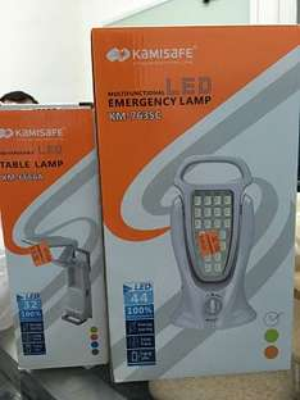 Chedraui Mundo Maya, Cancún: lámparas de emergencia LED Recargables KAMISAFE