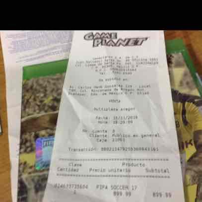 Game Planet Plaza Aragón: FIFA 17 para Xbox one