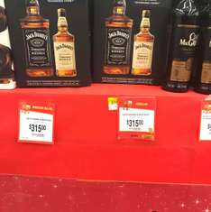 Walmart: Jack Daniel's 700 ml + Jack Daniel's Honey 350 ml $315