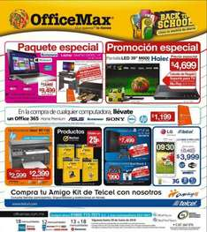 OfficeMax: laptop Lenovo con i5, multifuncional, escritorio y Office 365 $9,499 y más