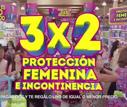 Ofertas Julio Regalado: 3x2 en protección femenina e incontinencia